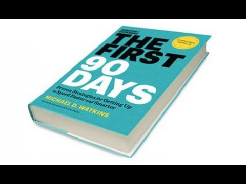 The First 90 Days - Transitioning to a new role