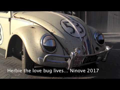 Herbie the 'Love Bug' lives Ninove 2017