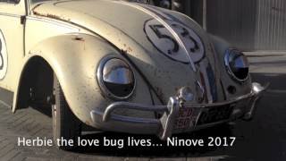 Herbie the 'Love Bug' lives Ninove 2017