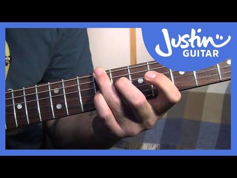 Mini Blues Chord Grips - How to Play Blues - Rhythm Guitar Lessons [BL-208]