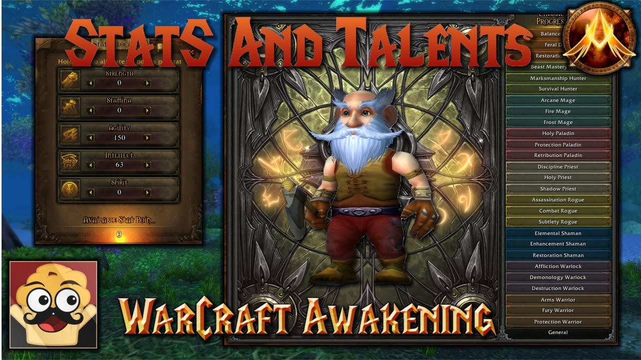WoW Awakening Lone Wolf Build - Stats and Talent Showcase