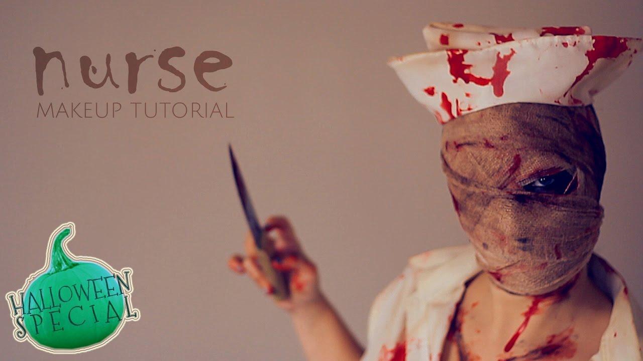 f354a325074bc Silent Hill Nurse Makeup Tutorial | Saubhaya Makeup