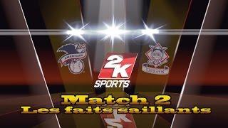 MLB 2K9 | Partie 2/2 - AL Stars VS. NL Classics | LCDR