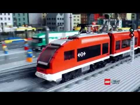 Lego City Passenger Train 7938 www.lemondelego.com LE...