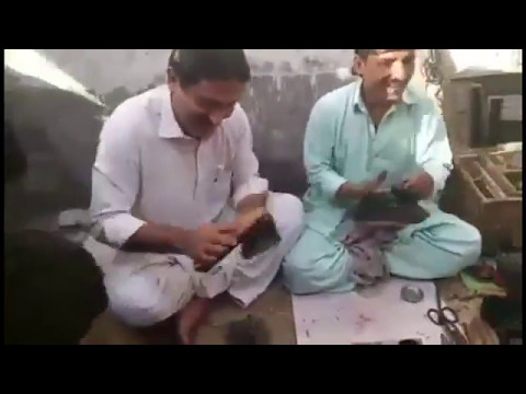 MNA Jamshaid Dasti started shoe polishing  free shop