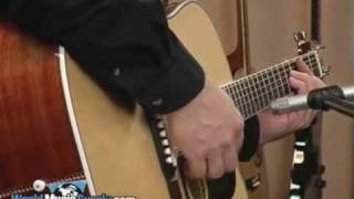 Washburn Acoustic/Electric Guitar D10SCE Demo
