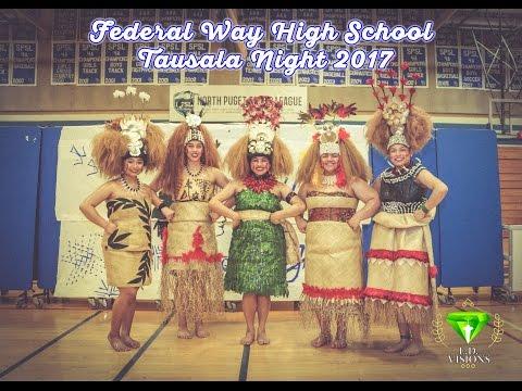 Federal Way High School Tausala Night 2017