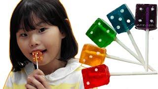 라임의 주사위 사탕 먹방 손가락 노래놀이  finger family Nursery Rhymes | Kids Songs | LimeTube