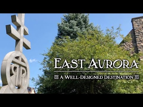 East Aurora: A Well Designed Destination