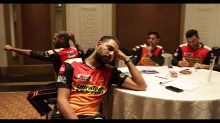 #KingfisherMannequinChallenge with Sunrisers Hyderabad