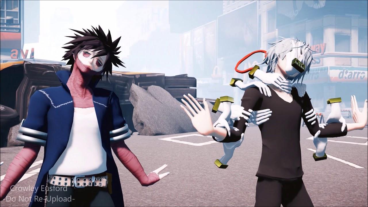 【Boku no Hero Academia MMD】ECHO 『Dabi - Overhaul - Tomura』