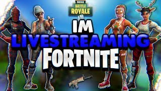 Fortnite BattleRoyale | VKK CLAN RECRUITMENT|2500V-BUCK GIVEAWAY AT 100 SUBS| LETS GRIND!