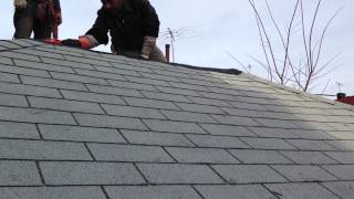 New Roof Shingles Installation- High Tech Construction Co
