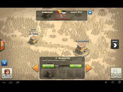 Clash of clans War | baghdad (IQ) VS souwan (LB) | ahm3d*63 بطل الحرب