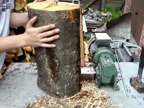 wood screw splitter vis fendeuse electric powered youtube. Black Bedroom Furniture Sets. Home Design Ideas
