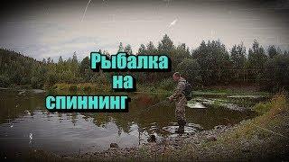 Рыбалка на СПИННИНГ/п.Шуркино/п.Ис/Fishing on a SPINNING/p. Churkina/p. IP...