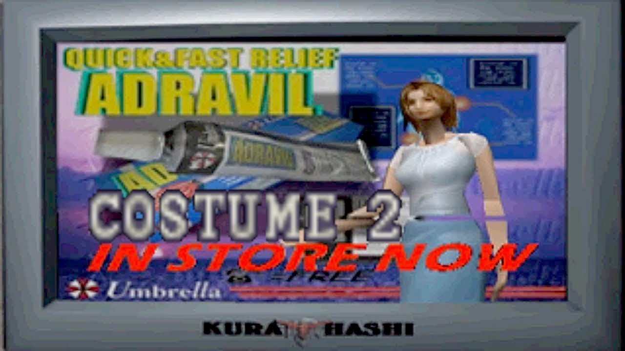Resident Evil 3 - Umbrella add model Second Costume + Randomizer [ PS1 MOD ]