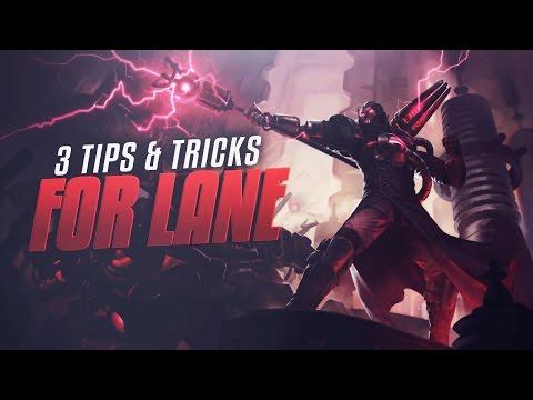 3 TIPS & TRICKS for WINNING LANE – League of Legends