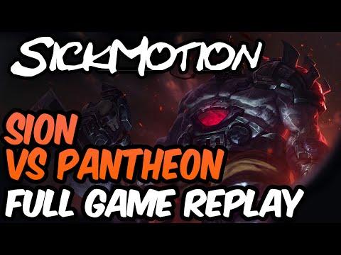 SickMotion - Sion vs Pantheon Toplane S6 - League of Legends