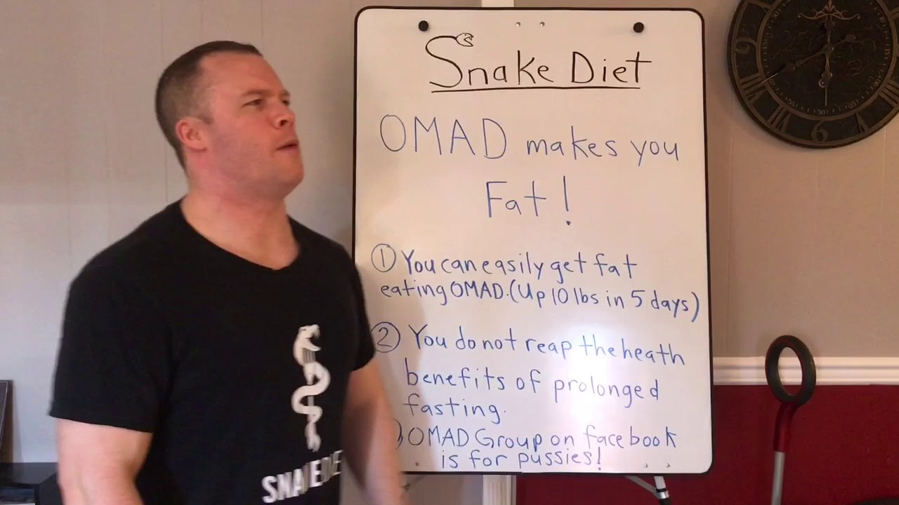 OMAD MAKES YOU FAT! - YouTube