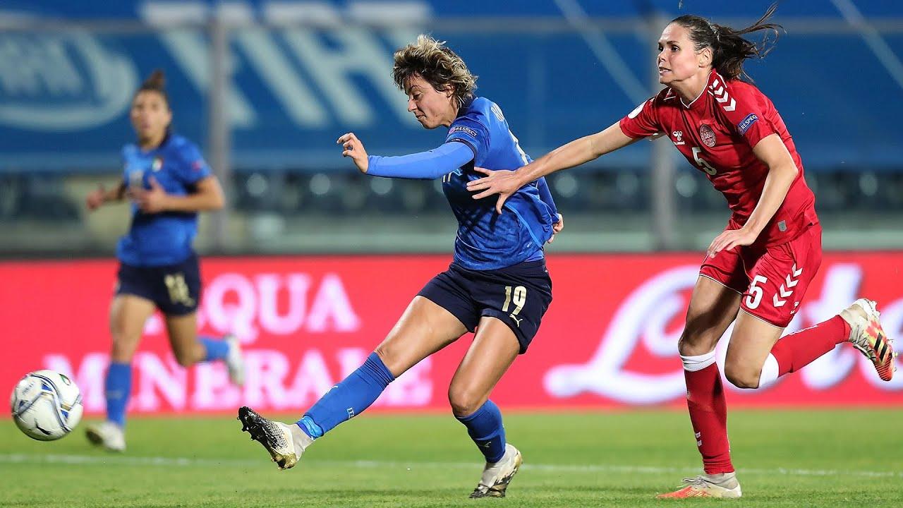 Highlights: Italia-Danimarca 1-3 - Femminile (27 ottobre 2020)
