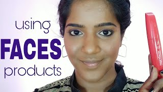 Makeup Using Faces Products First Impressions Review