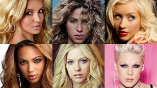 The Most Iconic Female Pop Singers of The 2000s & Their Songs (AMAZING SONGS) thumbnail