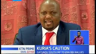 Moses Kuria threatens to sue anyone linking him to the murder of Chris Msando