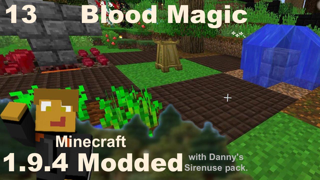 Modded 1 9 4 - Blood Magic - Getting Started, Incense Altar & Air Sigil