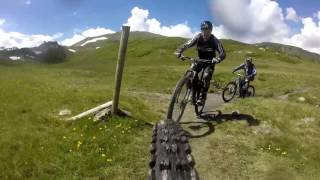 Alps Mountain biking,Le Thuile EWS,2016, Whiteroom....
