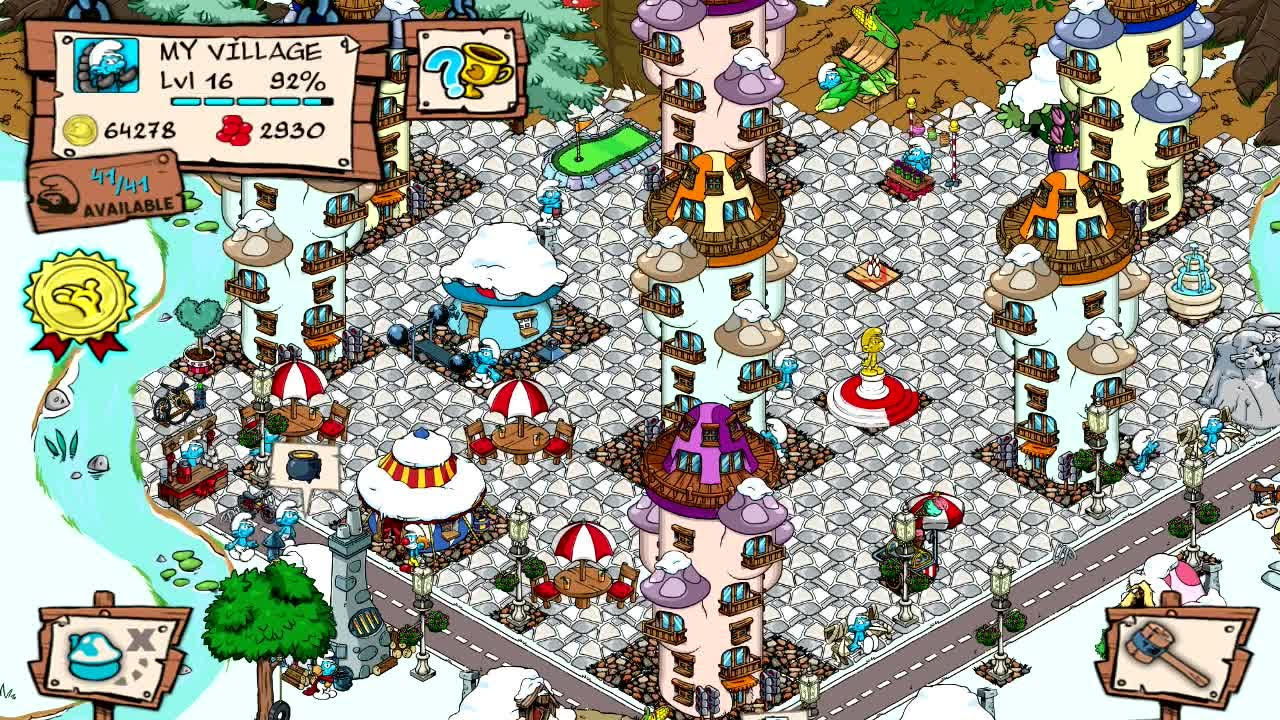 smurf village help