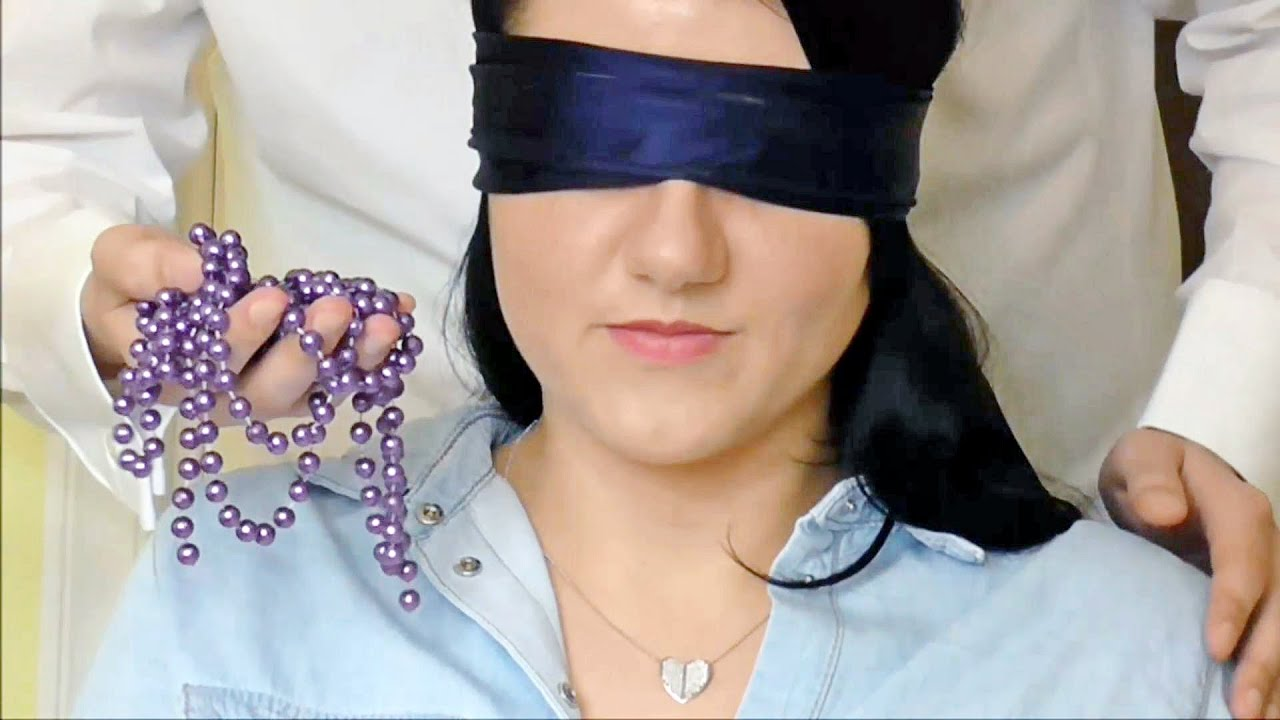 Asmr Role Play Binaural Neck Massage Ear To Ear Whisper Trigger Therapy Blindfolded