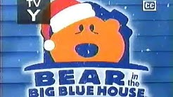 Playhouse disney bear in the big blue house A berry bear christmas intro