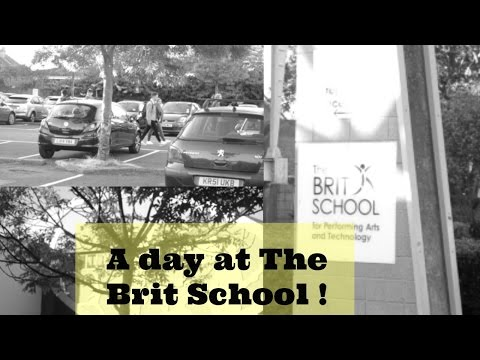 A Day In The Life Of A Brit School Student