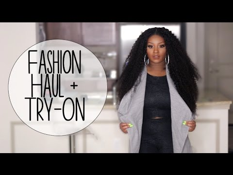 Fashion Haul + Try-on | FashionNova, UGG Australia, & Air Jordans!