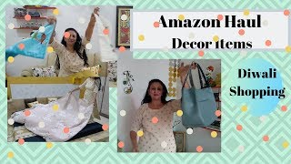 Amazon Haul - Decor Items  || Diwali Shopping from Amazon || #catchlifewithbhumi