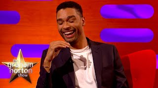 Bridgerton's Regé-Jean Page Forgot To Warn His Family On His NSFW Moments | The Graham Norton
