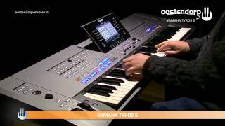 Yamaha Tyros 5 | Audio Styles