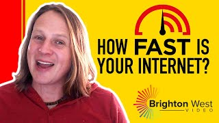 Measure your Internet speed with Fast.com