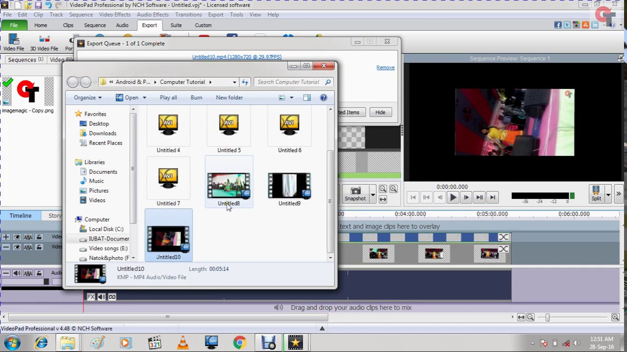 How to rotate a video how to create watermarks on video video pad how to rotate a video how to create watermarks on video video pad video editor youtube ccuart Gallery