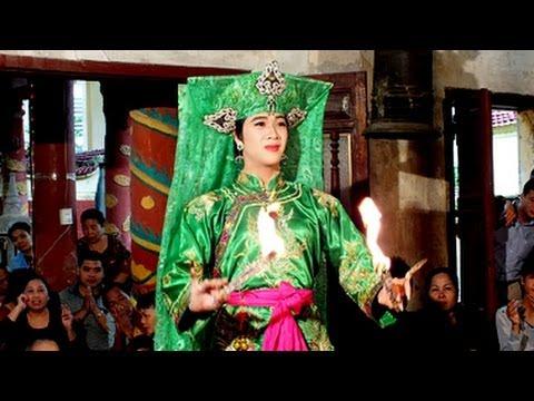 Hầu Bóng VN : Thanh Đồng Trần Vũ Tiến Hầu Giá Chúa Nguyệt Hồ
