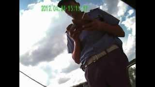 ГАИ Черниговская обл.пгт.Ладан(Извините за некачественную съемку, был немножко сломан регистратор. ..., 2012-04-25T16:03:24.000Z)
