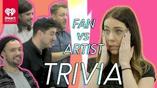Mumford & Sons Challenge A Super Fan In Trivia Battle | Fan Vs. Artist Trivia