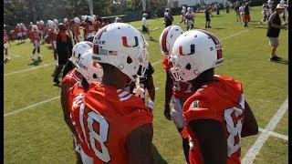 Miami hurricanes spring football game instant analysis