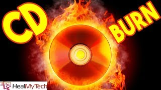 How To Burn A CD For Car & Standard CD Player | Convert MP3 To WAV