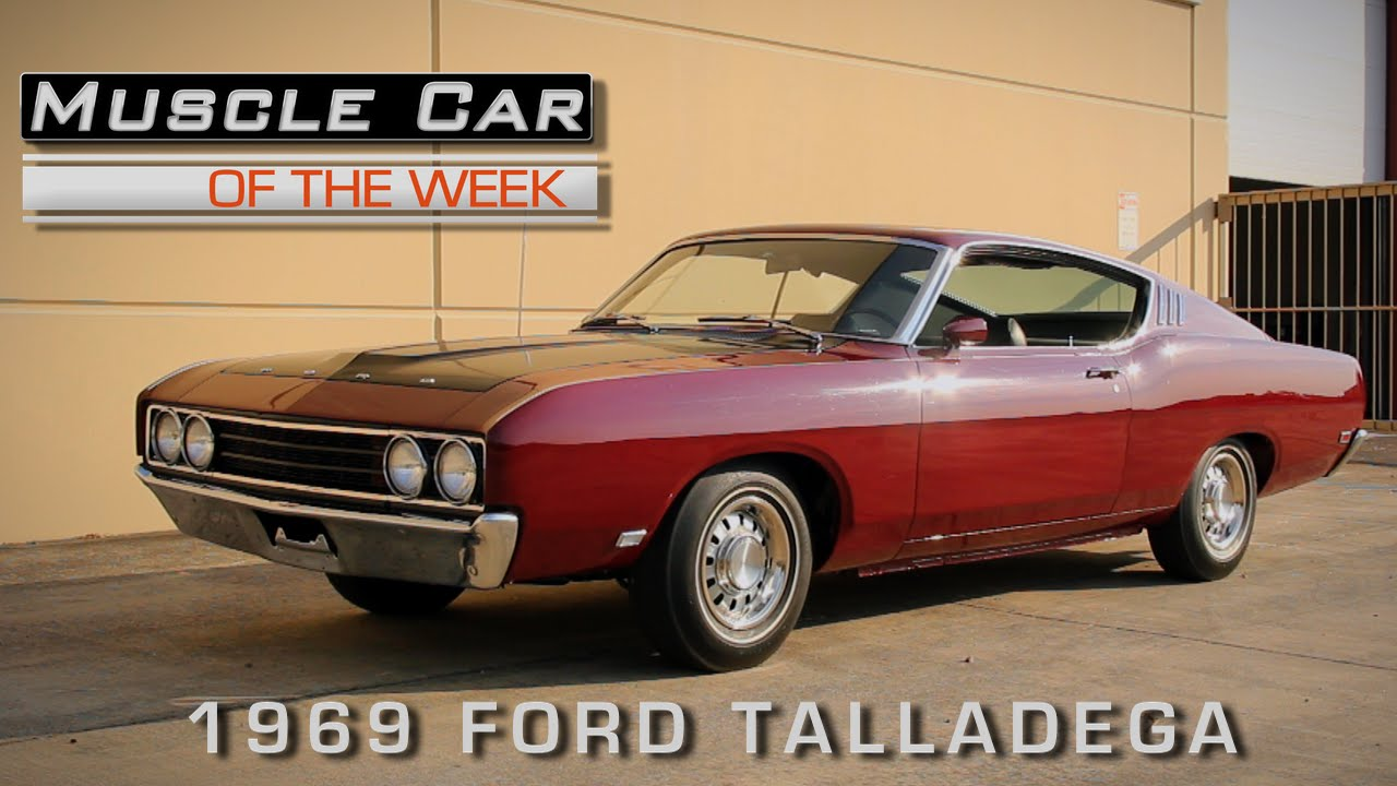 Muscle Car Of The Week Video Episode #137 1969 Ford Talladega 428 Cobra Jet - YouTube & Muscle Car Of The Week Video Episode #137: 1969 Ford Talladega 428 ... markmcfarlin.com