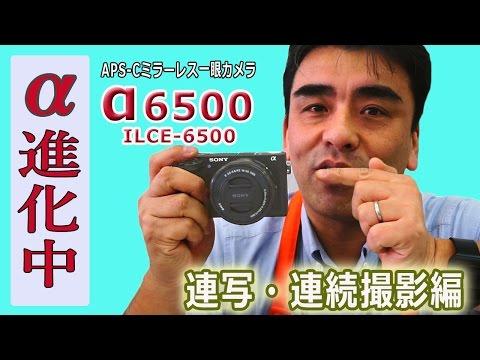 一眼カメラ「α6500」連写・連続撮影テスト ついでにα6000との比較