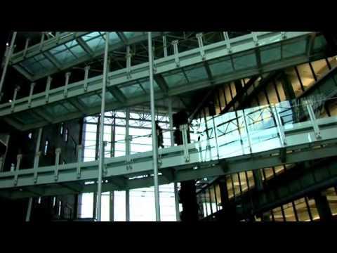 Tour of the CARE-Crawley medical school building at the University of Cincinnati