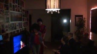 Johan & Maria as Michael Jackson & Ola Ray: