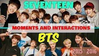 Download Video 💖 BTS and Seventeen Moments and Interactions 2015-2016 💖 MP3 3GP MP4
